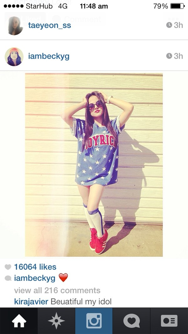 shirt joyrich beckyg blue white red stars shoes socks oversized shirt