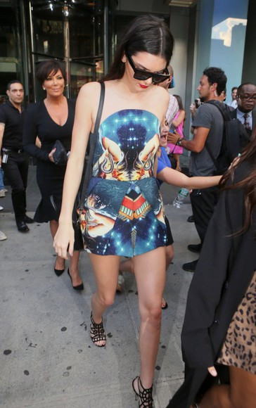 galaxy bag galaxy print sky galaxy dress kendall jenner lipstick sunglasses high heels pattern dress