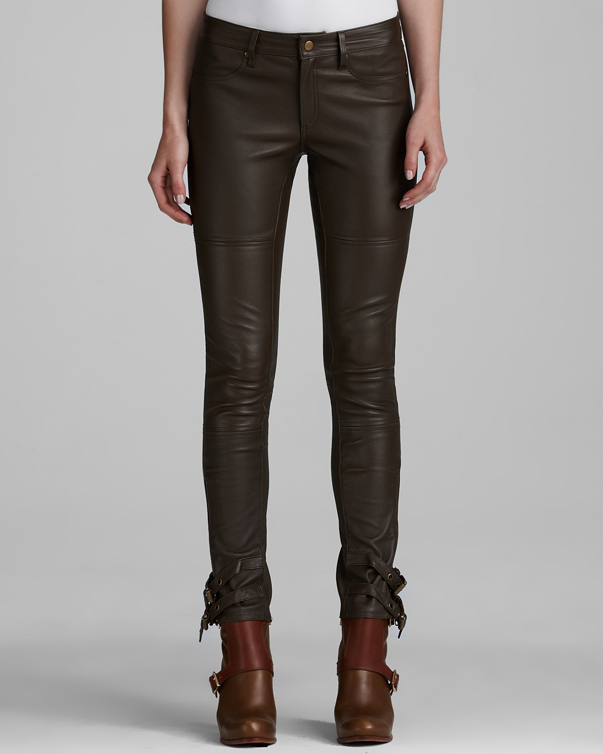 Rachel Zoe Pants - Suzie Belted Leather | Bloomingdale's