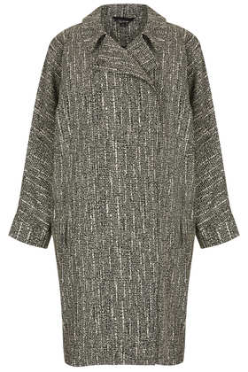 Printed Duster Coat - Jackets & Coats  - Clothing  - Topshop
