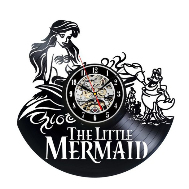 Home Accessory Little Mermaid Theme Little Mermaid Gifts Vinyl