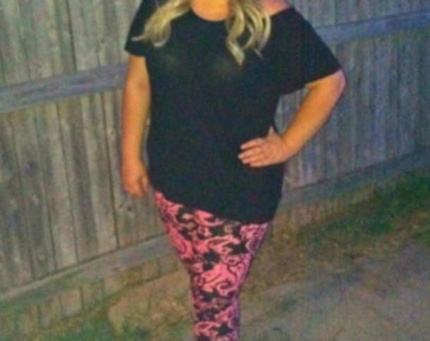 leggings paisley pink pink paisley pants rockstar