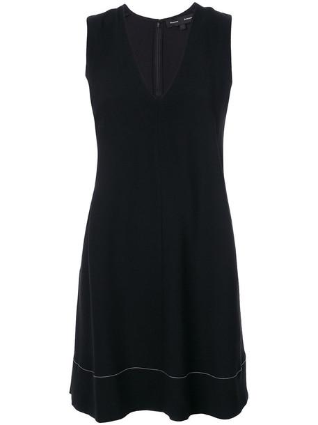 Proenza Schouler dress mini dress mini women black silk