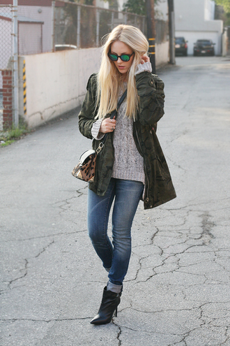 shoes sweater jeans bag jacket sunglasses cheyenne meets chanel