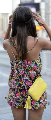 romper,floral,pink,floral romper,summer,summer romper,cute