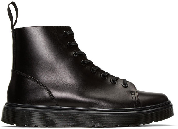 Dr. Martens high sneakers black shoes