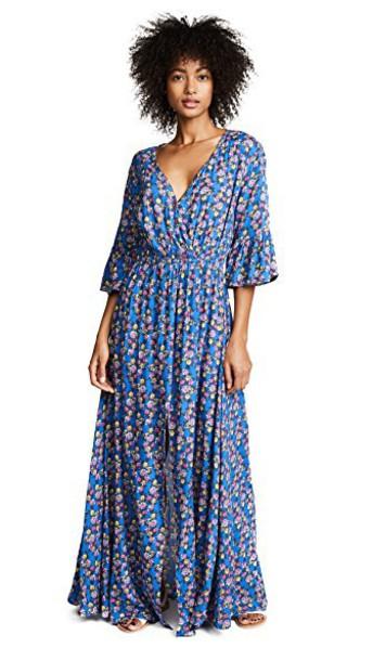 tiare hawaii dress maxi dress maxi blue bright