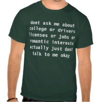 dont ask shirt from Zazzle.com