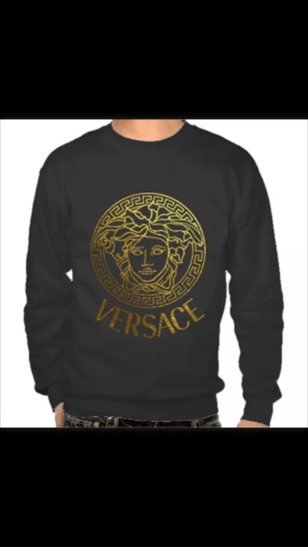 Jumpsuit Swag Shirt Jumper Pullover Versace Cool