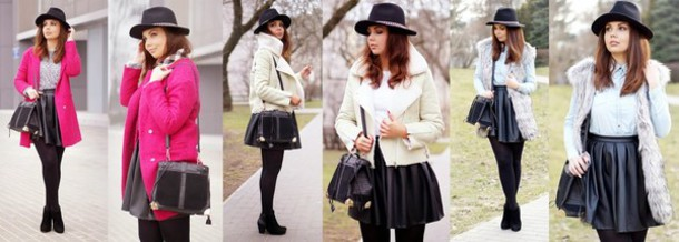 a piece of anna skirt jacket shirt bag shoes