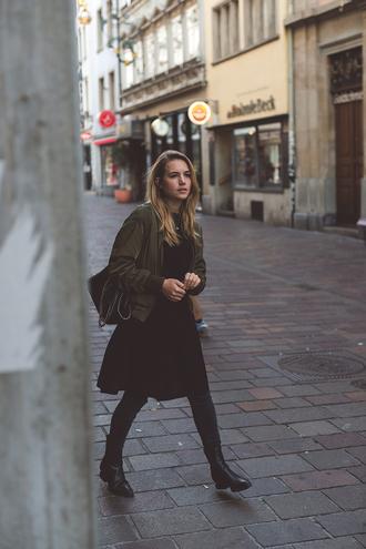 fashion gamble blogger jacket sweater dress jeans bag shoes jewels