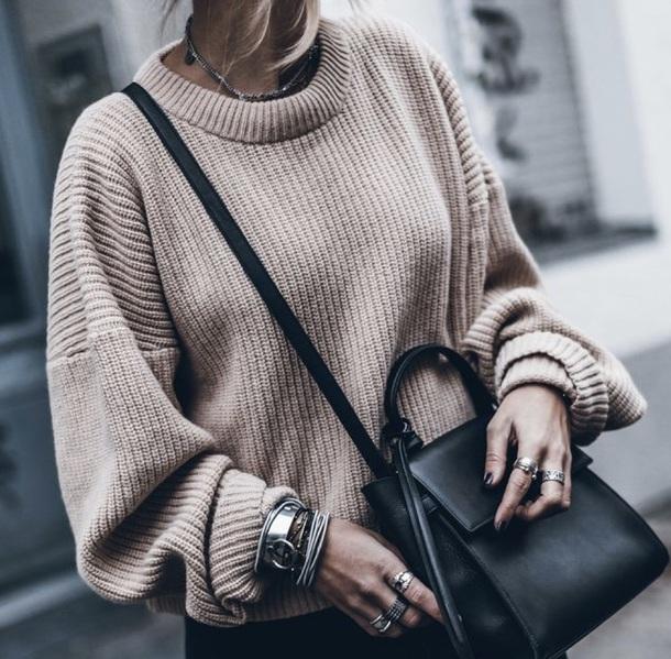 sweater tan sweater brown nude sweater