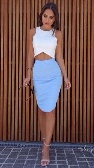 dress girl pencil skirt
