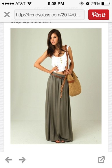 skirt maxi skirt summer maxi pretty long skirt green skirt summer skirt winter skirt fall winter skirt