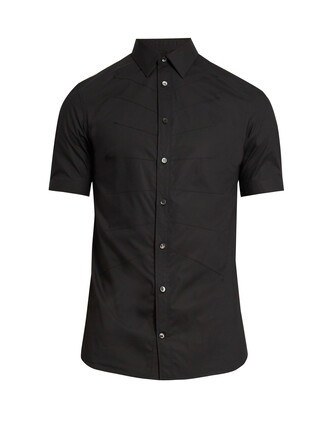 shirt short cotton top
