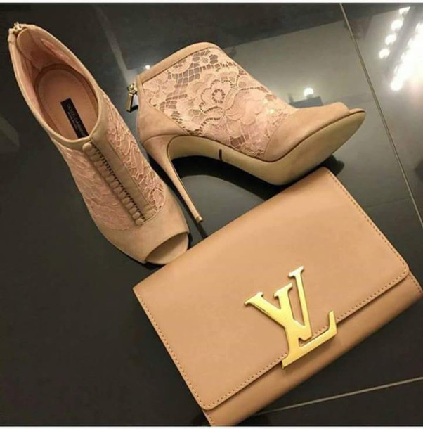 louis vuitton bag and shoes