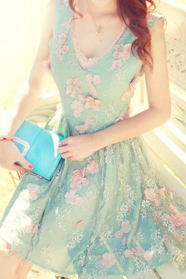 dress sweet dresses lace dress floral dress summer dress elegant dress dress