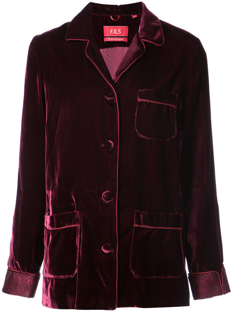 F.R.S For Restless Sleepers jacket women red