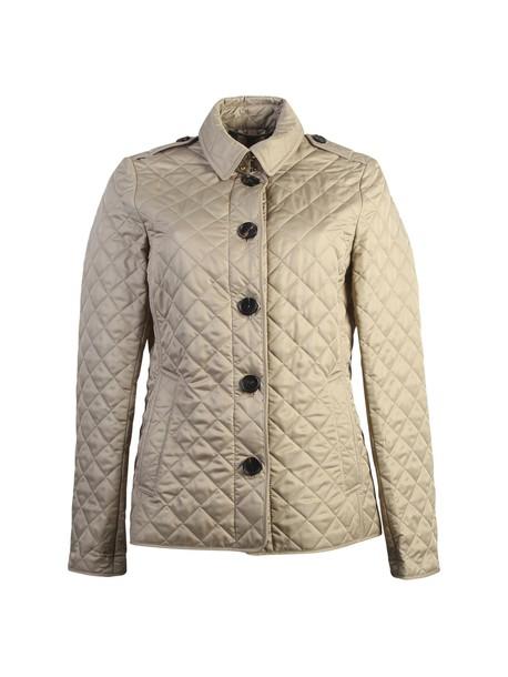 jacket quilted beige