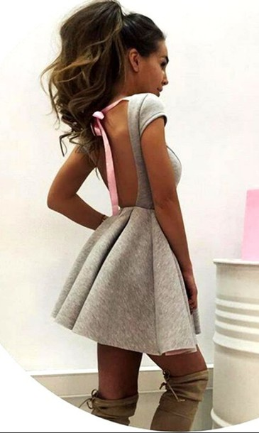 Cute Backless Dresses