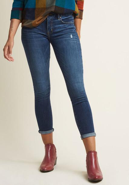 Modcloth jeans skinny jeans