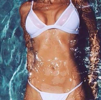 swimwear white bikini sexy hot summer outfits