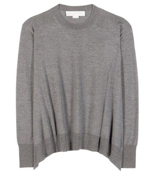 sweater wool sweater wool grey