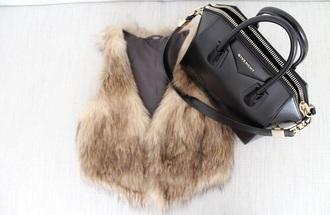 coat givenchy bag fur warm rain cold 2014 2015 2013 new look best style ever in life animal snow new trend this year popular givenchy bag animal clothing furry
