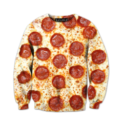 Pepperoni Pizza Sweatshirt