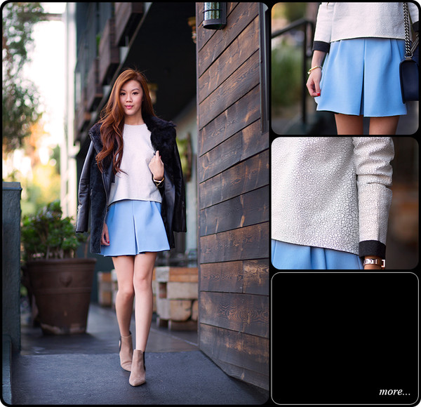 tsangtastic t-shirt skirt coat jewels shoes bag