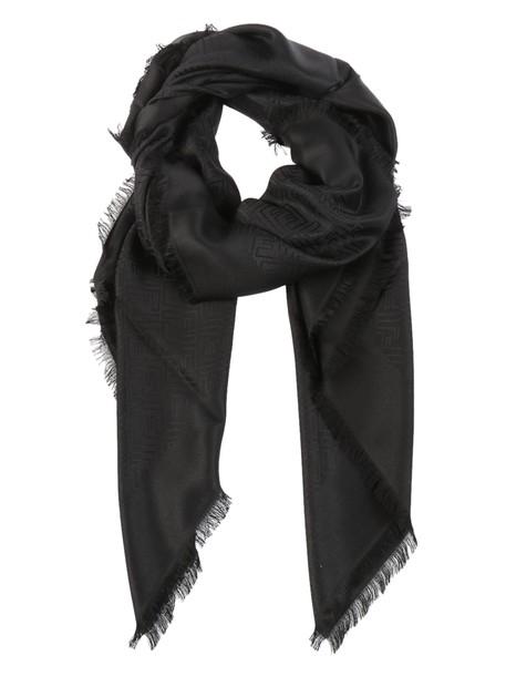 Fendi jacquard scarf