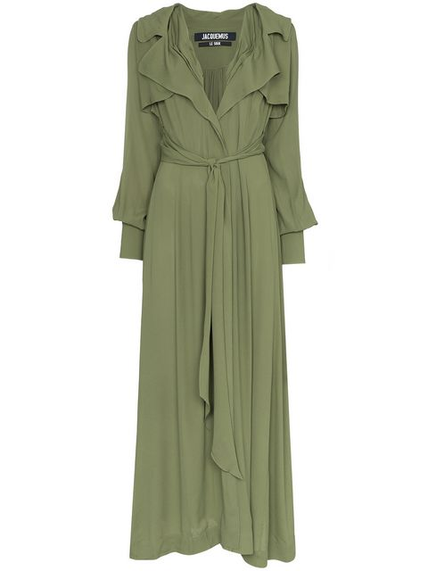 Jacquemus Belted Maxi Dress - Farfetch