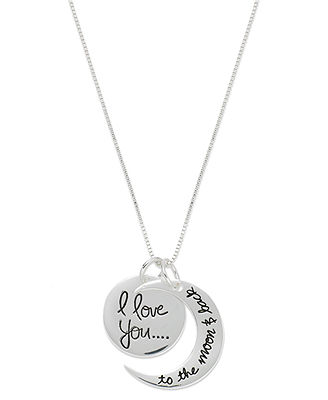 Inspirational Sterling Silver Necklace,