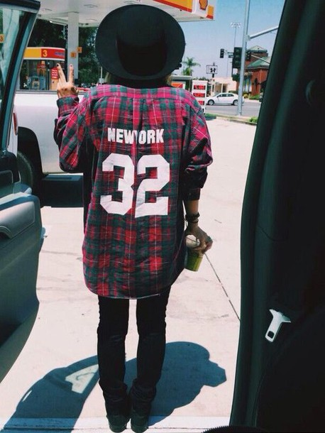 cardigan flannel shirt flannel shirt plaid 32 new york city new york city new york city swag style hot stylish cool dope 90s style