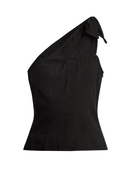 Apiece Apart top cotton black