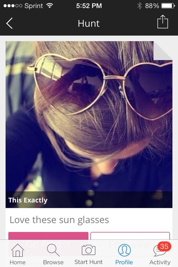 sunglasses summer heart sunglasses