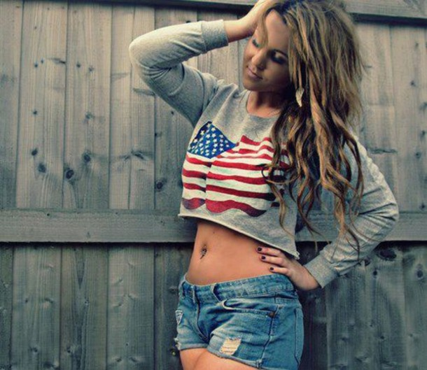 Cute American Flag Shorts - Shop for Cute American Flag Shorts on ...