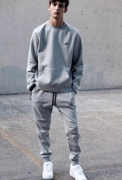size 40 363c8 a6a01 white nike jogging suit