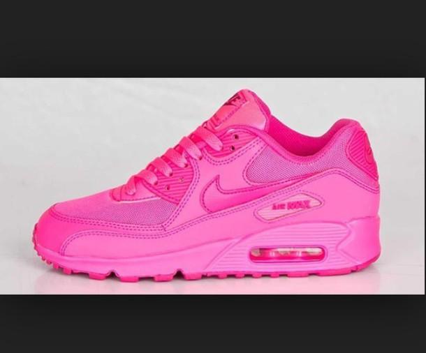 all pink air max
