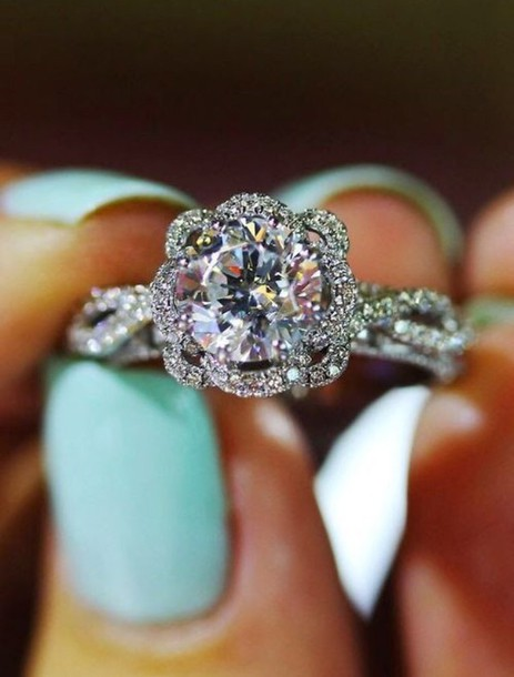 jewels diamond ring engagement ring diamonds ring diamonds beautiful jewelry solitare diamond ring