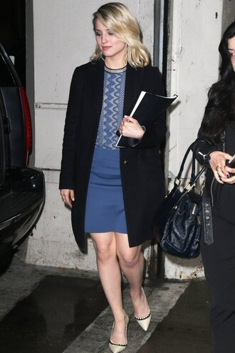 shoes dianna agron dress
