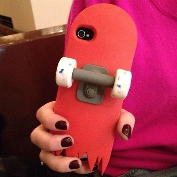 jewels skateboard iphone case