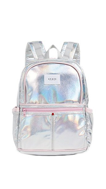 STATE backpack silver bag