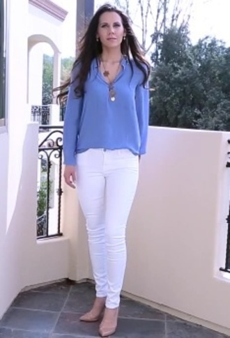blouse periwinkle