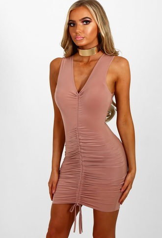 dress blush pink boutique