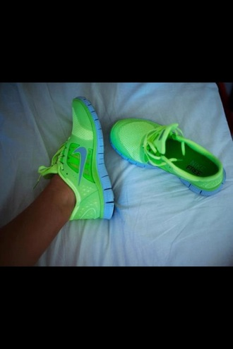 shoes green