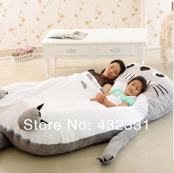 Size 2 1 1 45m Soft Floor Double Bed Cartoon Mattress For