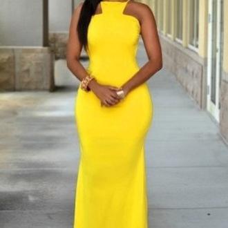 dress wots-hot-right-now yellow maxi dress