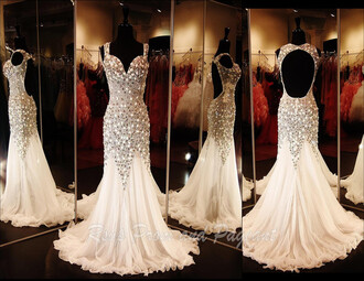 ivory dress ivory prom dress white dress white prom dress prom dress long prom dress bag