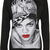 RIHANNA FACE PRINT SWEATER on The Hunt